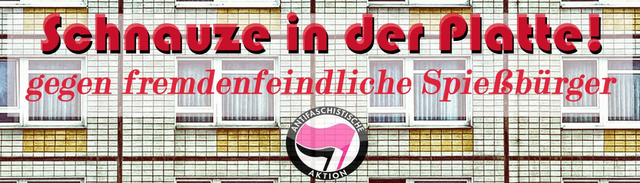 Demonstration am 09.08.2014 / 14 Uhr // S-Bhf Silberhöhe // Halle(Saale)